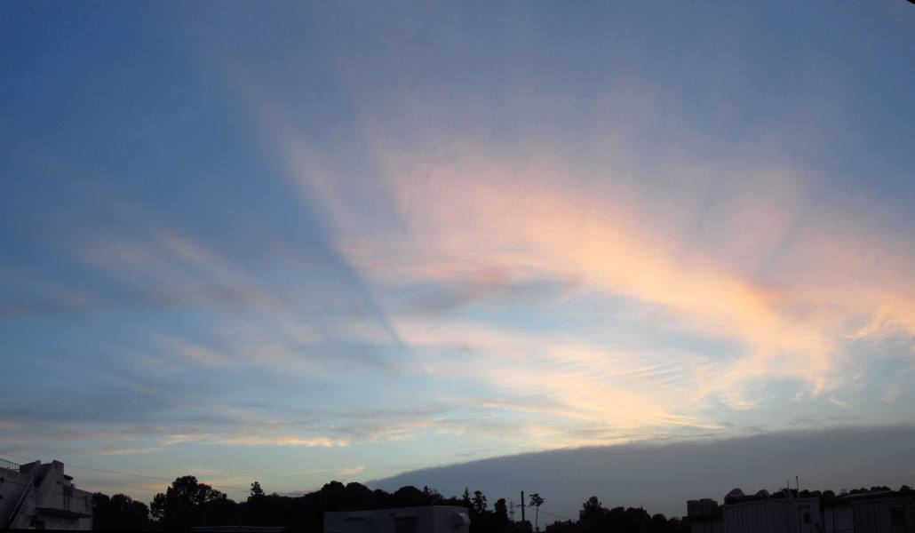 雲の影~薄明光線~