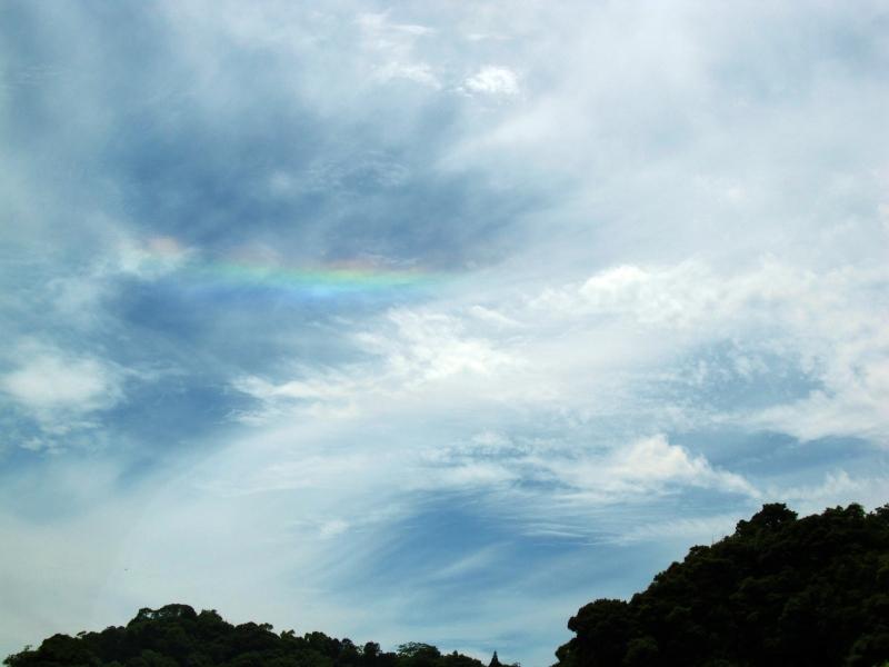 鹿児島で見た環水平アーク