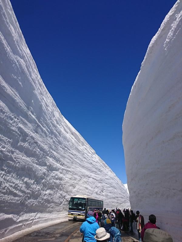 雪の大谷2017