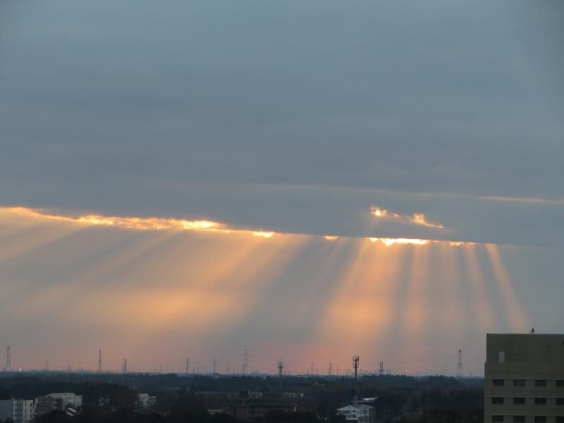 光芒/薄明光線/天使の梯子