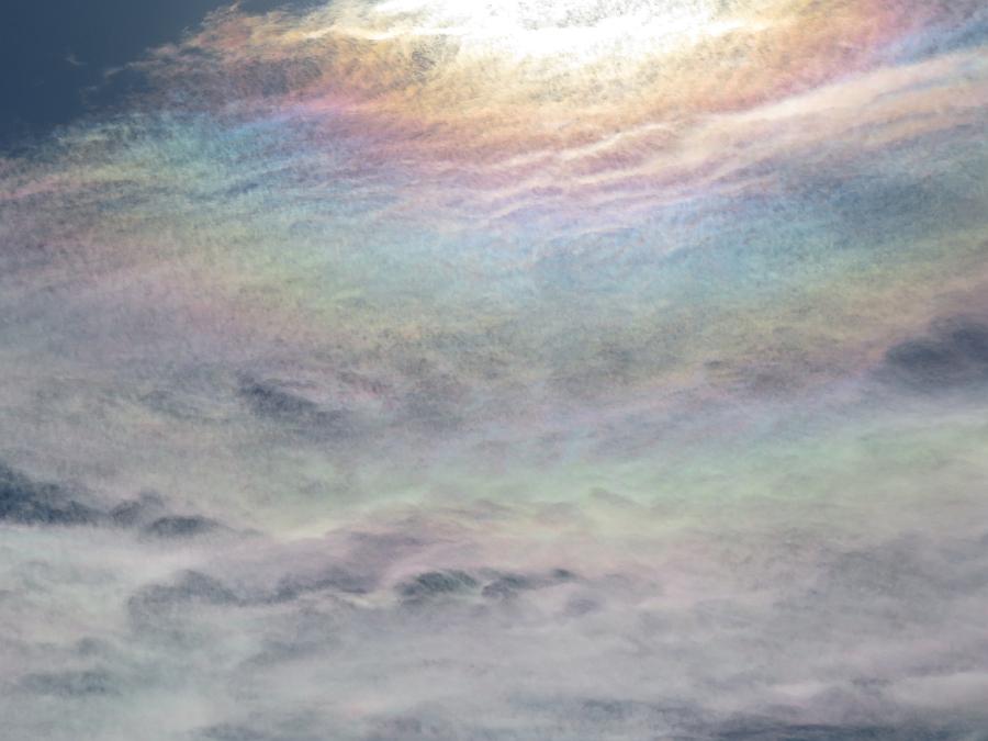 立山の彩雲