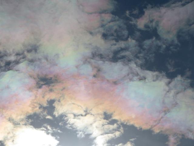 松山の彩雲