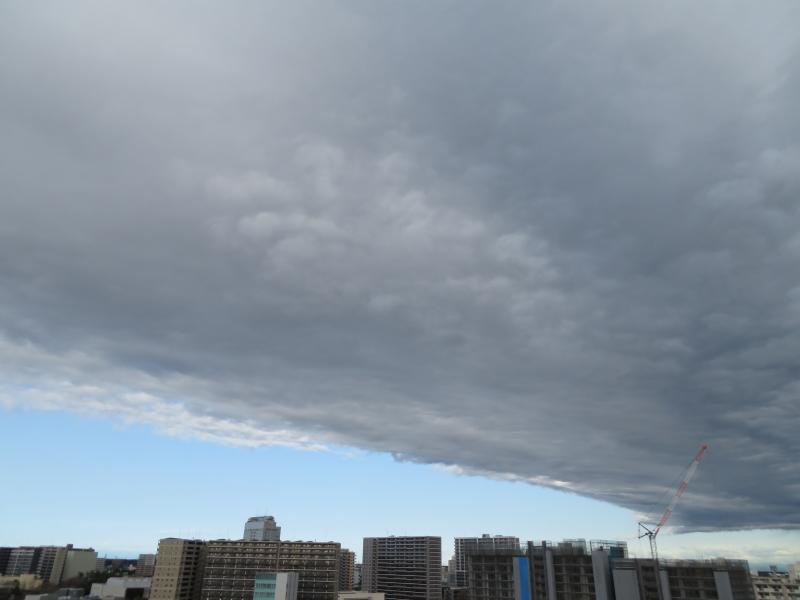青空と曇りの分かれ目